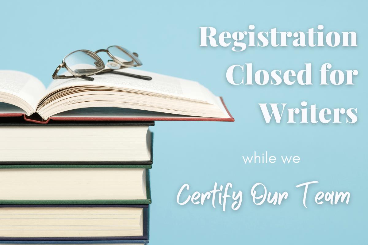 writer registration